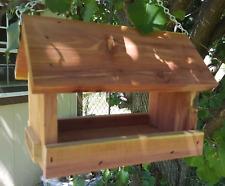 Small hanging platform feeder