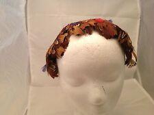Vintage Ladies Hat Headpiece Dianne Style Pheasant Feathers Super Nice Fun