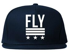 Kings Of NY Fly Printed Snapback hat New Navy Red USA Army LA Stars Society Dope