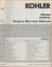 KOHLER ENGINES K341L, TP-1152/640 ULI SERVICE MANUAL (443)
