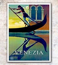 """Art Venice Italy Vintage Travel Print 12x18"""" A49"""