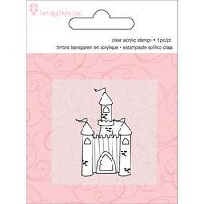 """Imaginisce Little Princess """"Castle"""" Clear Stamp!"""
