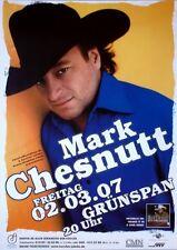 CHESNUTT, MARK - 2007 - Konzertplakat - Heard it in a Love Song - Tourposter - H