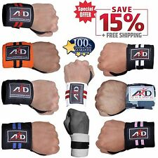 ARD Gym Weight Lifting Wrist Wraps Bandage power Hand Suport Strap Training pair