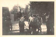 Deutsche Soldaten beim Schlachtfest Petrikau Polen