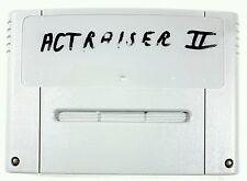 Super Nintendo Spiel ACTRAISER 2 dt. PAL
