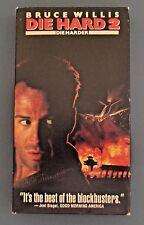 DIE HARD 2 Bruce Willis VHS R Movie Video Tape 1995