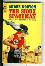 THE SIOUX SPACEMAN by Andre Norton, rare US Ace sci-fi pulp vintage pb
