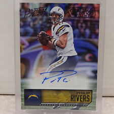 2016 Panini Prestige Xtra Points Philip Rivers Chargers Auto BLACK #1/1