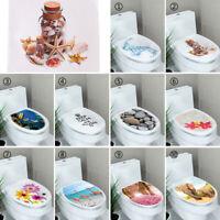 Aufkleber WC Closestool Cover Toilettendeckel Stickers Decal Home Decor Bathroom
