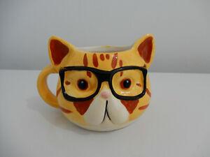 Vintage Ceramic CAT COFFEE MUG / CUP - Deceased Estate