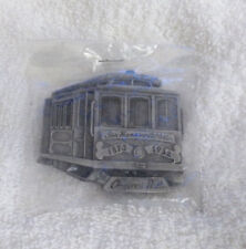 SF San Francisco Cable Car Trolley Metal Belt Buckle Pacific Brass & Buckle NEW!