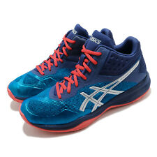 Asics Netburner Ballistic FF MT Race Blue Silver Men Volleyball 1051A003-400