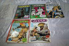 Fumetti SKORPIO anno X nr 7 20 21 27 30 rivista attualità 1986