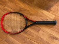 Yonex VCore SV 105 Tennis Racquet, STRUNG