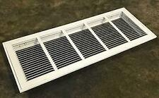 """LIMA 60GHFF-30 X 10 WHT/001248 10"""" X 30"""" STAMP-FACED RETURN AIR FILTER GRILLE 1"""
