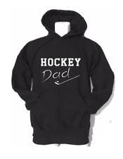 """ADULT HOCKEY DAD custom gildan hooded sweatshirt """"HOCKEY DAD"""" HOODIE"""