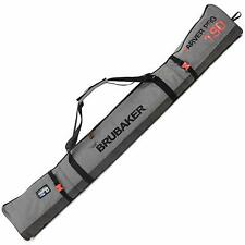BRUBAKER Performance Ski Bag for 1 Pair of Ski and Poles - Gray