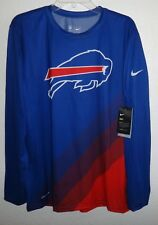 Nwt Mens L Nike Dri-Fit Dry On Field Buffalo Bills Nfl Football Athletic Shirt