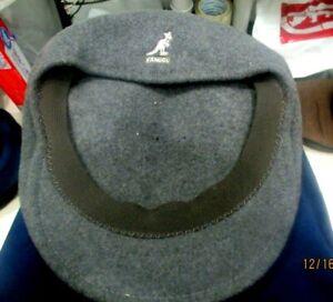 Kangol  Grey  Wool 504 Cap  XL