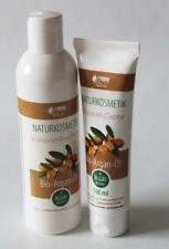 (33,71€/L) Arganöl Shampoo/Duschgel und Creme Arganöl  Set parfumfrei