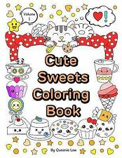 Cute and Kawaii: Cute Sweets Coloring Book : Relaxing Coloring Book for...