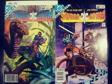 SWORD OF THE ATOM 1-4 SET AND SPECIALS NM DC 1983 PA2-186