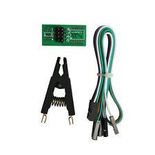 SOIC8 SOP8 Flash Chip IC Test Clips Socket Adapter BIOS/24/25/93 programmatore