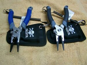 "Calcutta CALP75-18 7.5"" Golf Grip Aluminum Pliers w/ Side Cutter/Sheath choise"