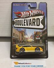 Porsche 993 GT2 * Yellow * Hot Wheels Boulevard * D24