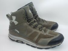 Under Armor Verge GTX Gore-Tex Gray/Olive Mid Ankle Hiking Boots Men's Size 10