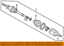 FORD OEM Front Drive-CV Shaft Axle Assy 5L8Z3A427C