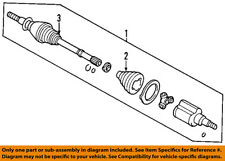FORD OEM Front Drive-CV Shaft Axle Assy 5L8Z3A428DB