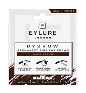 Eyebrow Tint Dark Brown Eyelure Eyebrow Dye Kit Professional Brown Activator