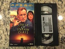 CURSE OF THE STARVING CLASS RARE LIKE NEW VHS NOT ON DVD 1996 JAMES WOODS, BATES