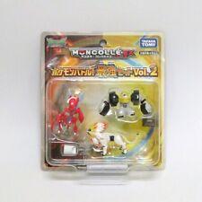 Moncolle EX strongest set vol.2 Scizor Solgaleo Melmetal Pokemon Battle Figure