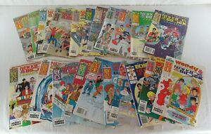New Kids on the Block Comic Book Mixed Lot of 21 Harvey Rockomics 1991 Vintage