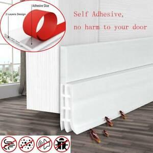 Soundproof Windproof Under Door Draft Insect Stopper Control Door Seal Strip
