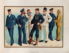 Us navy uniforme matelot sailor man steward quartier-maître Marine fusil garde