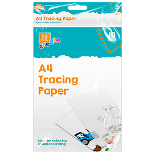 A4 Tracing Paper 40gsm Ultra Thin See Through Copy Drawing Calligraphy Trace