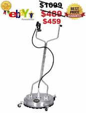 NEW VIPER 22'' Stainless Flat Surface Concrete Cleaner Whirl-A-Way - BE the Best