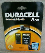 Duracell 3-in-1 Mobile Kit - 8 GB ~ NEW