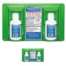Eyes Care Wall Mount Kit Eye & Skin Flush Station 2 x16oz Bottles EyeWash Wash