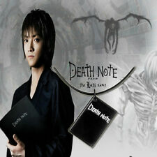 Anime Death Note Metal Necklace Black Book Pendant Rope Charm Choker Gift