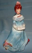 Vtg Joseph Originals Sitting Woman Lady Girl Figurine Reading a Book
