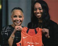 LEXIE BROWN signed (CONNECTICUT SUN) WNBA DUKE Basketball 8X10 photo W/COA #1
