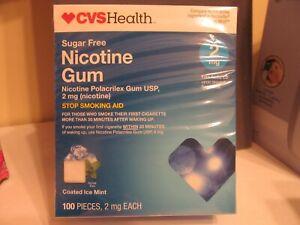 NICOTINE GUM-SugarFree-Valuesize-2mg -Original 100 pieces-3/21
