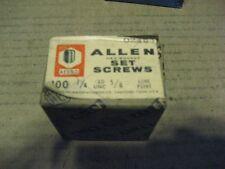 1/4-20X5/8 CONE PT ALLOY SET SCREW 200PCS (AA7641-200)