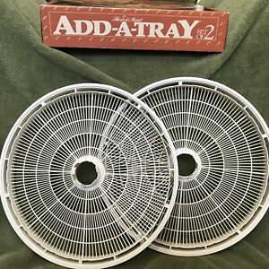Harvest Maid Add-A-Trays TR-2 for FD-1000 Series Dehydrators (2 Count) Good! Box