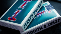 Vintage Feel Jerry's Nuggets Aqua Playing Cards 1 Deck New